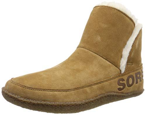 Sorel Nakiska Bootie, Botines para Mujer, Marrón Camel Brown 224, 43 EU