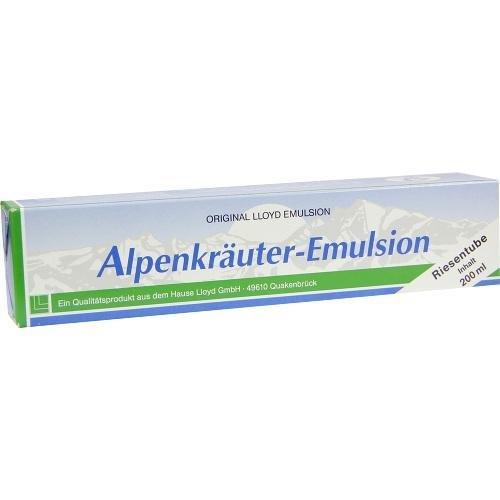 Alpenkräuter-Emulsion, 200 milliliter