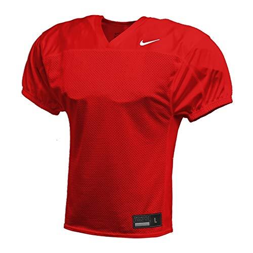 Nike Stock Recruit Practice Football Jersey - rot Gr. M