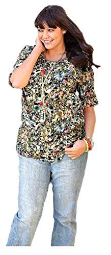 Sheego - T-shirt - Tunique - Opaque - Femme Multicolore Multicolore Multicolore - Multicolore