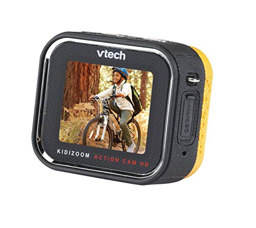 VTech Action Cam HD Action Camera for Kids, Kids Digital Camera for Outdoor Sports, Handy & Waterproof Video Digital Camera for Children Girls & Boys Aged 5, 6, 7, 8 Years Old