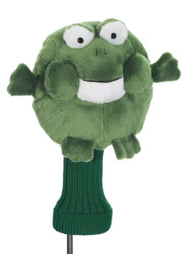 CREATIVE COVERS FOR GOLF CHUBBY CHIPPER FROG GOLF CLUB HEAD COVER