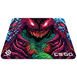 SteelSeries QcK+ Gaming-Mauspad (450 x 400 mm, Stoff) cs:go hyper beast