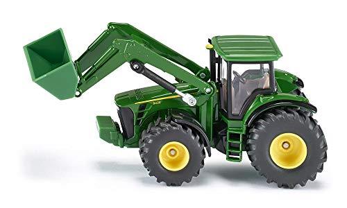 SIKU 1982, John Deere Traktor mit Frontlader, 1:50, Metall/Kunststoff, Grün, Beweglicher Frontlader - John 50 Deere-1