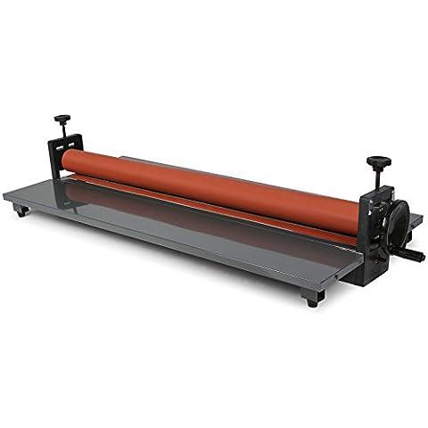 HPcutter Plastificatrice a Freddo Macchina di Laminazione Laminator Machine 1000MM 4 Roller Manuale di sistema Vinyl Photo Film (1000MM)