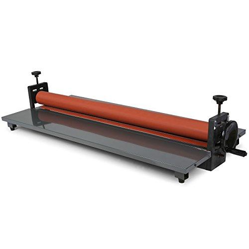 Buoqua laminatrice a freddo manuale 1000mm plastificatrice a freddo manuale laminatore 1000mm gomma morbida e alla superficie liscia