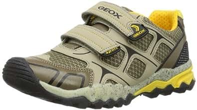 Geox J MOUNTAIN A J42F6A01454C0959 Jungen Sneaker, Beige (SAND/OCHREYELLOW C0959), EU 28