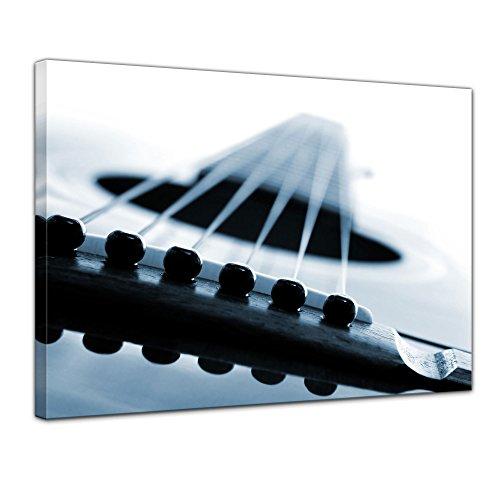 Kunstdruck - Gitarrenkorpus - Bild auf Leinwand - 60 x 50 cm - Leinwandbilder - Bilder als Leinwanddruck - Wandbild von Bilderdepot24 - Urban & Graphic - Korpus einer Gitarre (Gitarre Bilder Für Kinder)