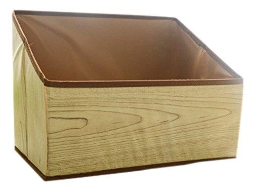 Mehrzweck-faltender Aufbewahrungsbehälter für Büro/Stifthalter/Buchstütze, Holz (Brief Buchstützen)