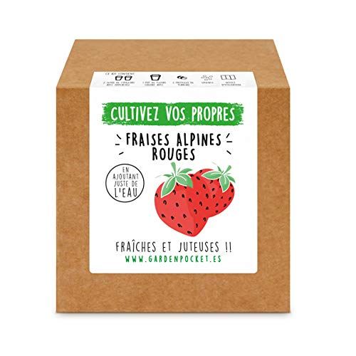 Garden Pocket - Kit de Culture de FRAISES ROUGES