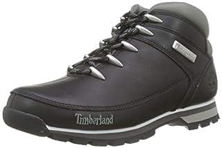 Timberland Euro Sprint Hiker, Stivali Uomo, Nero (Black