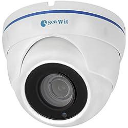 Sea Wit POE Sicherheit IP Kamera Dome Netzwerk Kamera mit 5 Megapixel, 2592 * 1944 Auflösung, 4x Optical Auto Zoom 2.8-12mm Motorisierte Objektiv, Motin Detection, Unterstützung Remote Viewed von iPhone, Andriod, Pad und Windows PC