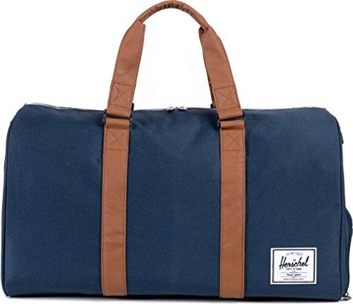 herschel-supply-co-roman-sac-de-sport-sac-fourre-tout-noir-bleu-bleu-marine-taille-unique