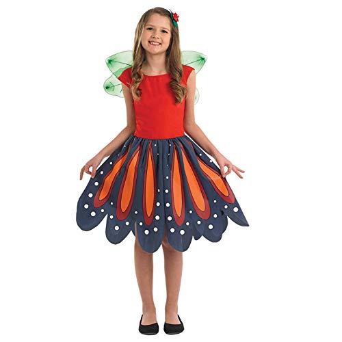 Fun Shack FNK4005S Kostüm, Girls, Woodland Fairy, Größe - Fairy Girl Kostüm