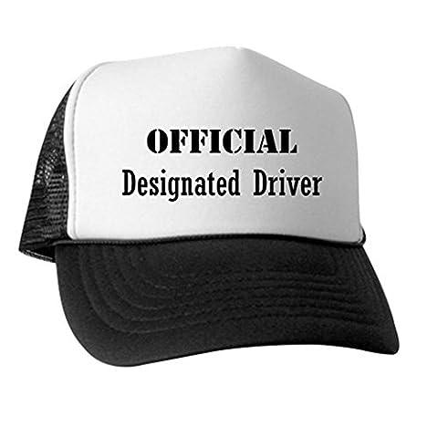 CafePress - Official Designated Driver - Trucker Hat, Classic Baseball Hat, Unique Trucker Cap