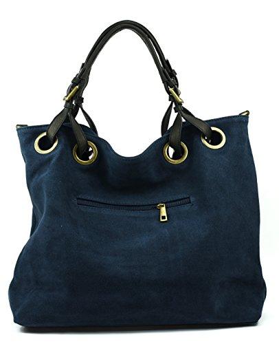OH MY BAG OPERA, Borsa a spalla donna Blu (blu scuro)
