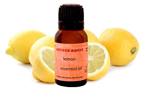 Sacred spell limone olio (15ml): 100% naturale–ideale per condizioni di pelle e capelli (40005)