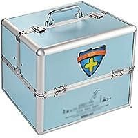 Schmuckkästchen Mizii Medizin-Box Startseite Aluminium-Legierung Schloss Doppel-Offene Medizin-Box Multi-Funktions-Diagnose-Box... preisvergleich bei billige-tabletten.eu