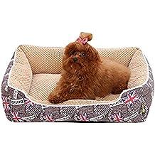 Suministros para Mascotas Cálido y Suave Cama de Perros y Gatos Cuatro Temporadas Disponibles Desmontable y