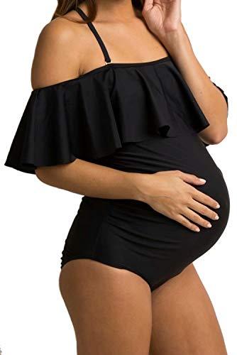 NUUR Traje baño Mujer Maternidad Premamá Mujer Bañador