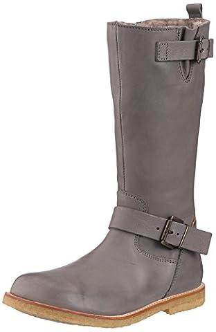 Bisgaard TEX boot 60501216, Mädchen Schneestiefel, Grau (402 Grey) 39