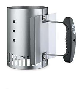 Weber 7447 - Cheminée d'allumage petit modèle pour modèles Smokey Joe® ou Go-Anywhere® avec poignée