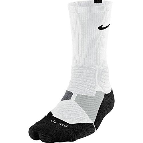 Nike Hyperelite Basketball Crew Dri-Fit Herren Socks, Mehrfarbig, XL, SX4801-366 (Crew Sportsocken Basketball)