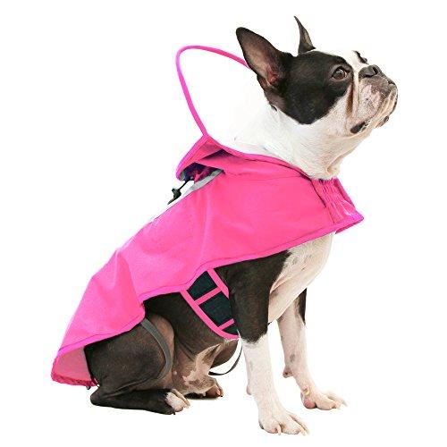 GOOBY Hund Full Range Regen Mantel mit Verstellbare Kapuze Gap