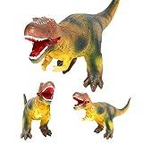Lernspielzeug für Kinder,Jaerio Großes weiches Schaumgummi füllte Dinosaurier-Spielzeug-Tier-Abbildungen mit Ton an