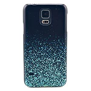 Blue Stars Pattern Hard Case Cover for Samsung Galaxy S5 I9600 in Multi Colour