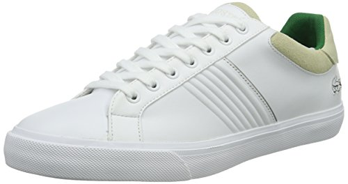 Lacoste Fairlead 316 2, Baskets Basses Homme Blanc - Weiß (Wht 001)