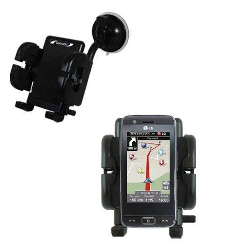 LG GW520 Windschutzscheibenhalterung für KFZ / Auto - Cradle-Halter mit flexibler Saughalterung für Fahrzeuge