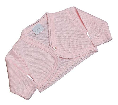 Strickjacke/Bolero für kleine Mädchen mit Muschelkante. Für besondere Anlässe.