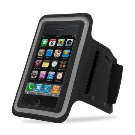 Armband-Schutzhülle für Apple iPhone 5 / 5S schwarz schwarz