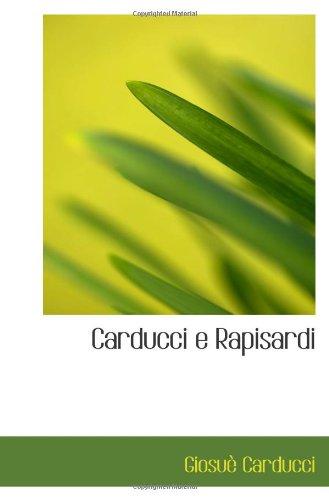 Carducci e Rapisardi