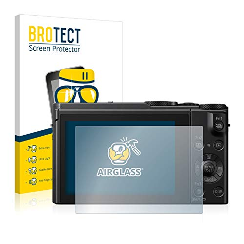 brotect AirGlass Protection Ecran Verre Compatible avec Panasonic Lumix DMC-LX15 - Vitre Protection 9H