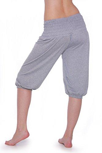 fdf343dda2e197 Damen Yoga Pant kurze Hose 11 Farben Pluderhose Shorts Pumphose  Einheitsgröße S - XXL