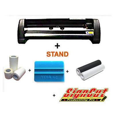MH721 Schneidemesser Plotter Promo Paket Deal (ideal für Schilder und/oder T-Shirt Startup)