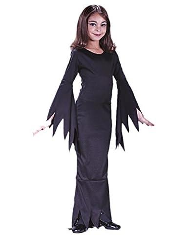 Madame Morticia Kinderkostüm Small (Morticia Kostüm Zubehör)
