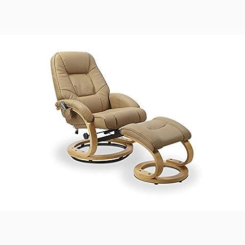 JUSThome Matador Fauteuil de massage (HxPxL): 103x71x76 cm Couleur: Beige