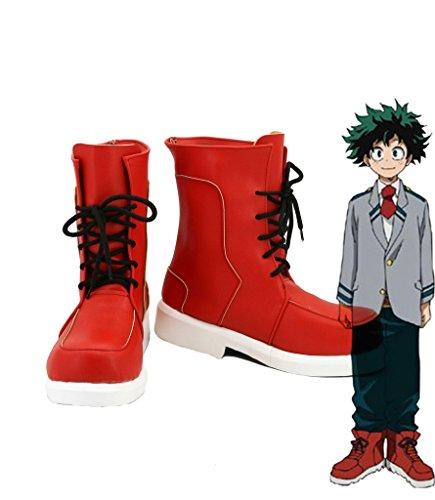 Telacos My Hero Wissenschaft Boku Keine Hero Wissenschaft izuku midoriya Cosplay Schuhe Stiefel Custom Made, Herren, ()