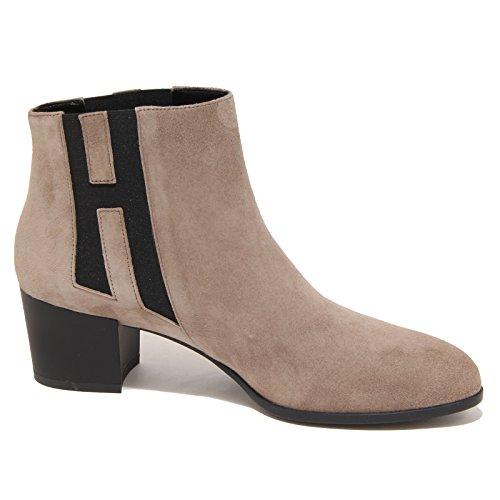 8058N stivaletto HOGAN tortora tronchetto donna boots women Tortora