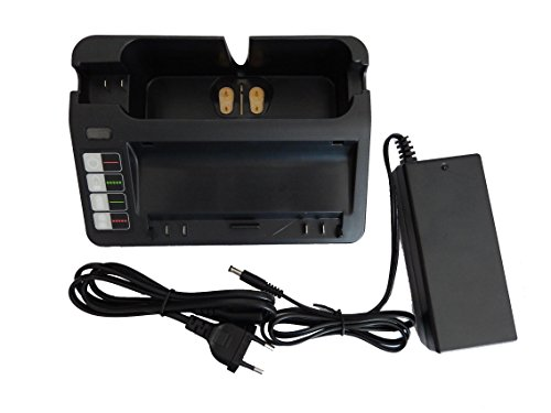 vhbw 220V alimentatore caricabatteria cavo di ricarica per iRobot Scooba 450 come 14904, BPL18151, 11700, 17373, NC-3493-919, 11702.