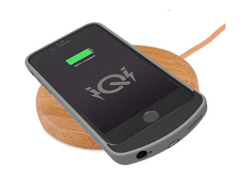 Fonesalesman iQi PWRcase - Qi Receptor de Carga inalámbrica para el iPhone 6 y 6S con una batería incorporada 1550mAh