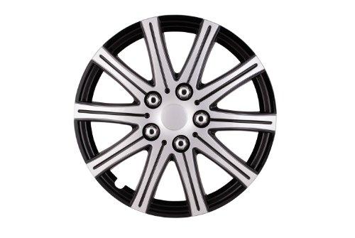 sumex-507124p-fuji-juego-de-tapacubos-15-pulgadas-acabado-pulido-color-plata-negro
