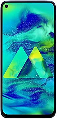Samsung Galaxy M40 (Midnight Blue, 6GB RAM, TFT LCD Display, 128GB Storage, 3500 mAH Battery)