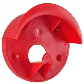 Trensenhalter Kunststoff rot
