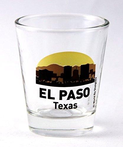 El Paso Texas Sunset Skyline New Shot Glas