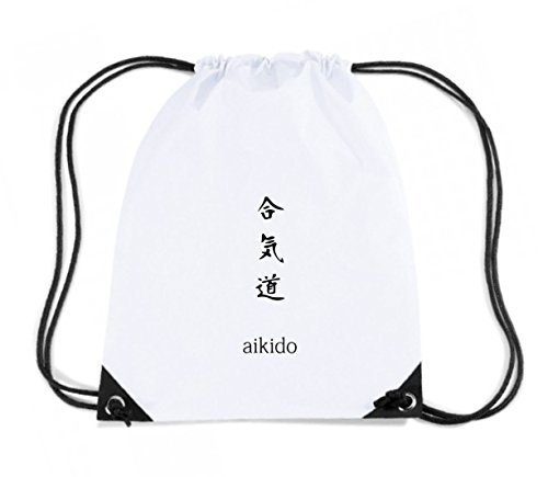 T-Shirtshock - Rucksack Budget Gymsac TAM0002 aikido hooded sweatshirt