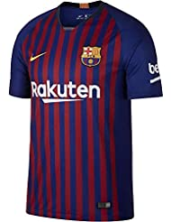 Nike Fútbol Club Barcelona Camiseta, Hombre, Azul/Rojo, ...
